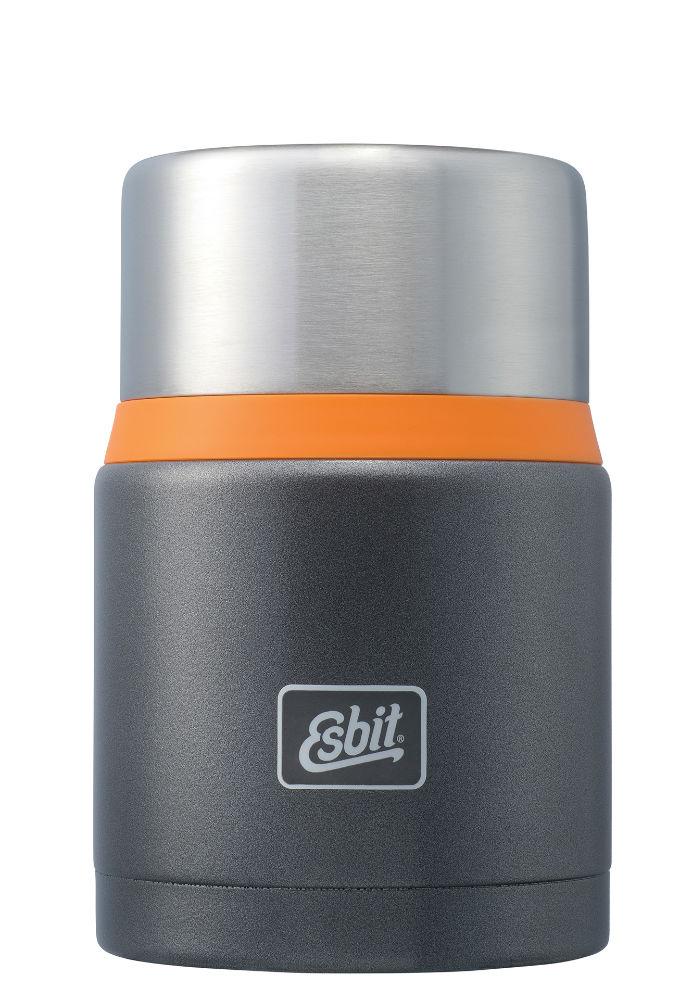 termoska na jedlo Esbit Thermo FJ750 SP GO 0.75 L oranžová - termoska na jedlo  Esbit® FJ 750 SP GO hammerschlag d1e8a6a57c3