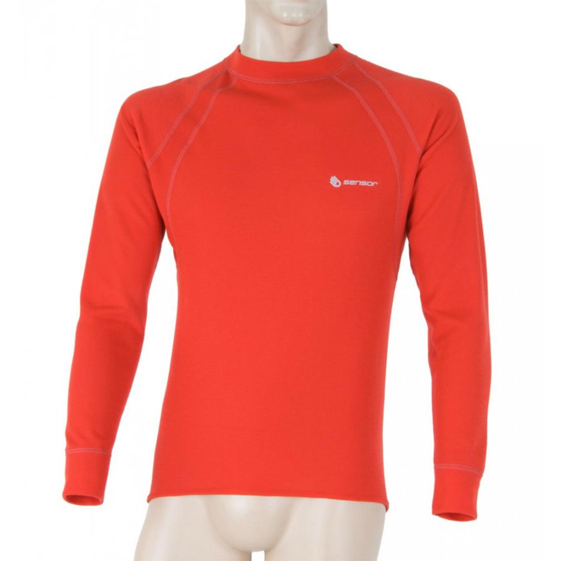 8f3f62ae6ebe pánske Sensor Double Face termo T-shirt red - Sensor double face termo  tričko červené dlhý rukáv