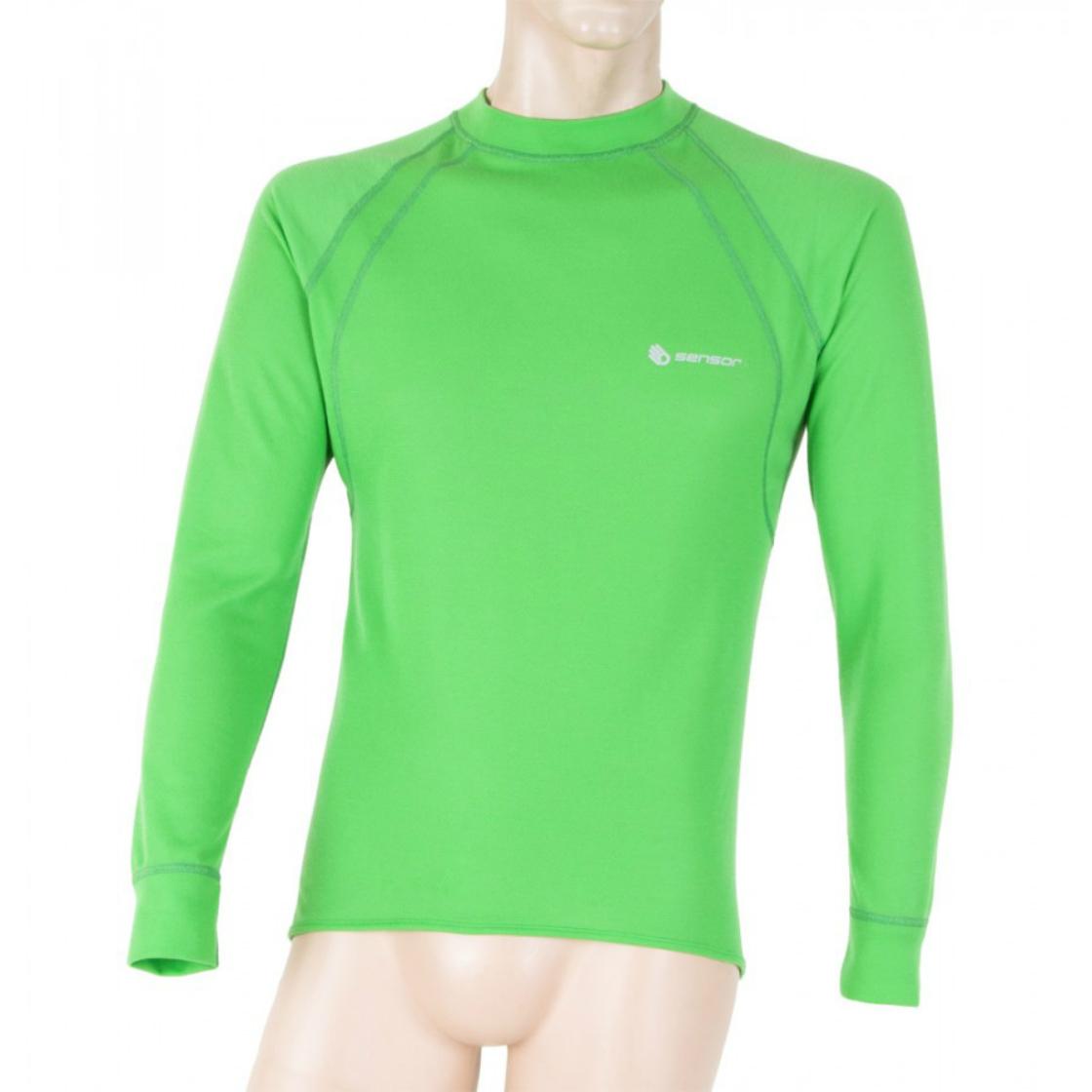 1fdcf788365a pánske Sensor Double Face termo T-shirt green - Sensor double face termo  tričko zelené dlhý rukáv