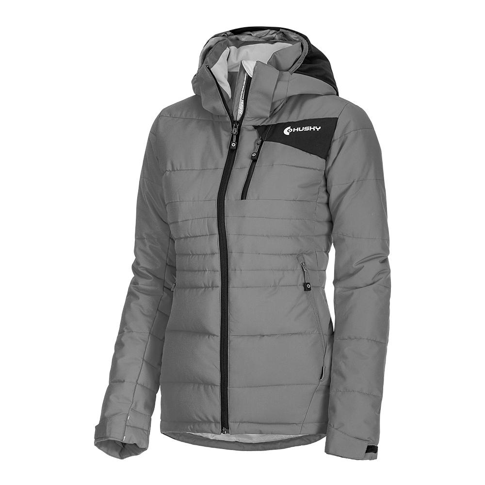 d3cb56f15bd5 HUSKY dámska zimná bunda HUSKY NOREL L sivá - BERG SPORT