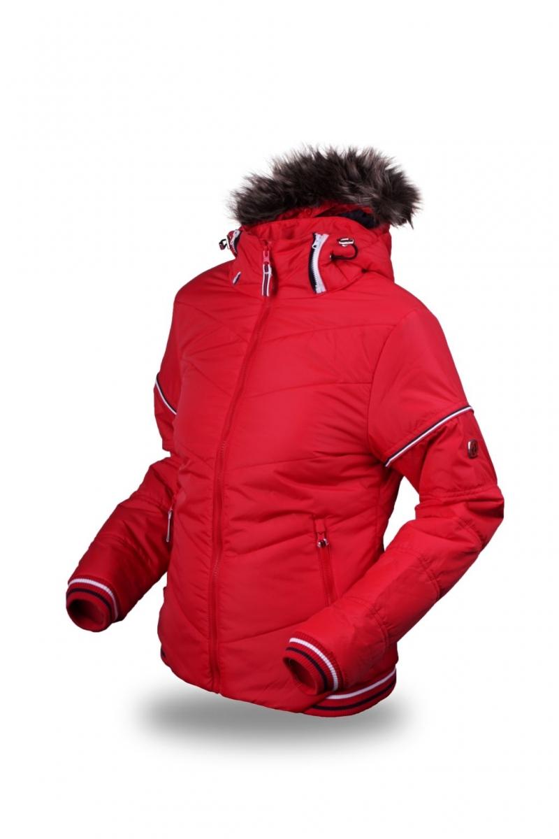 f67339087e7a9 dámska zimná bunda TRIMM Justyna červená - BERG SPORT