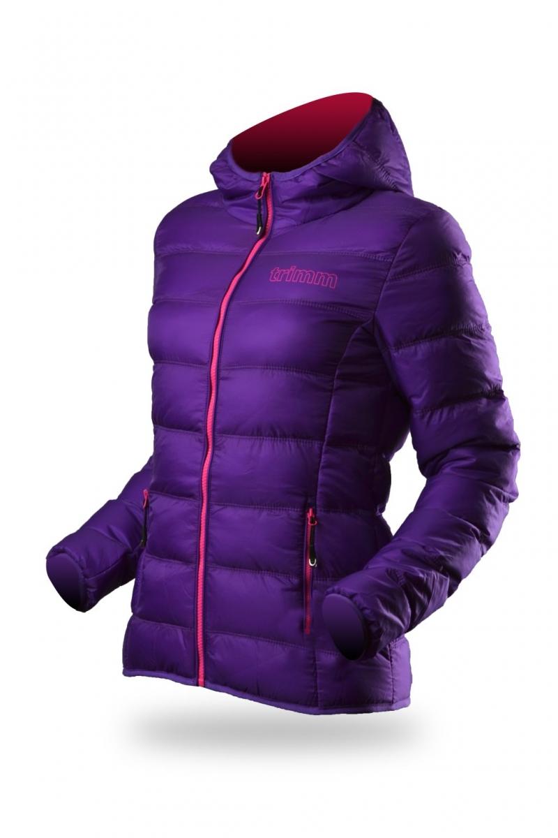 142b17cfa8f4 dámska zimná bunda TRIMM Rubin lady fialová - BERG SPORT