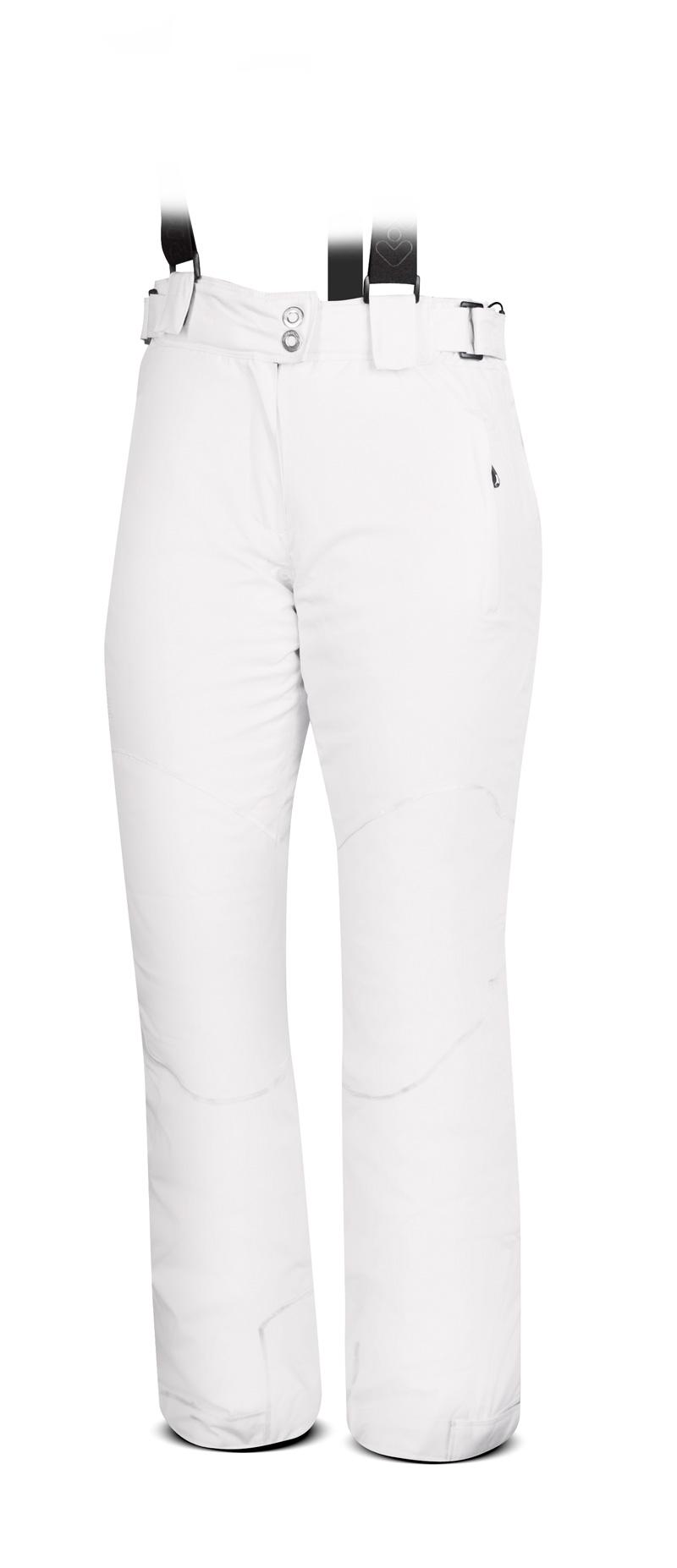 3b98a0dff8 dámske lyžiarské nohavice TRIMM Narrow lady biele - BERG SPORT
