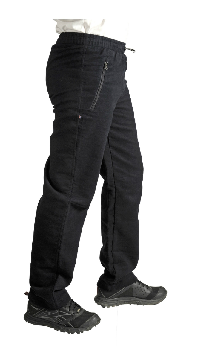 15a9fc44d447 pánske nohavice BENESPORT ABOV čierne - BERG SPORT