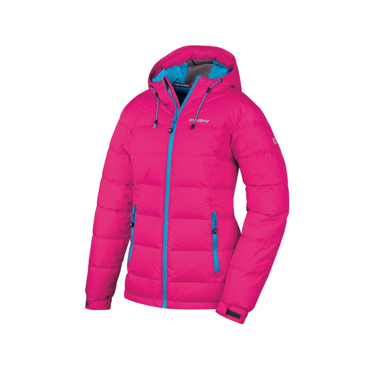 2cdd675659e6 dámska zimná bunda HUSKY Heral L ružová - BERG SPORT