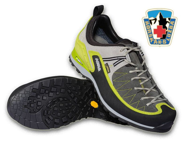 ASOLO SALYAN GV graphite green lime - turistická obuv Asolo Salyan ... 0407324141
