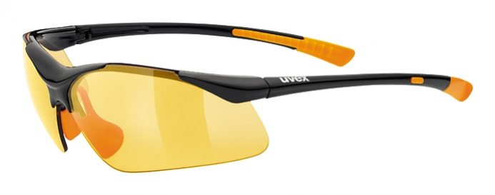c016468c6 cyklistické okuliare UVEX Sportstyle 223 čierno-oranžové - BERG SPORT