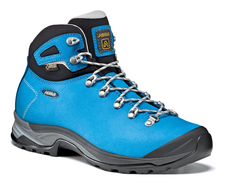 1cc311f576a5 dámske turistické topánky ASOLO Thyrus GV sea blue - BERG SPORT