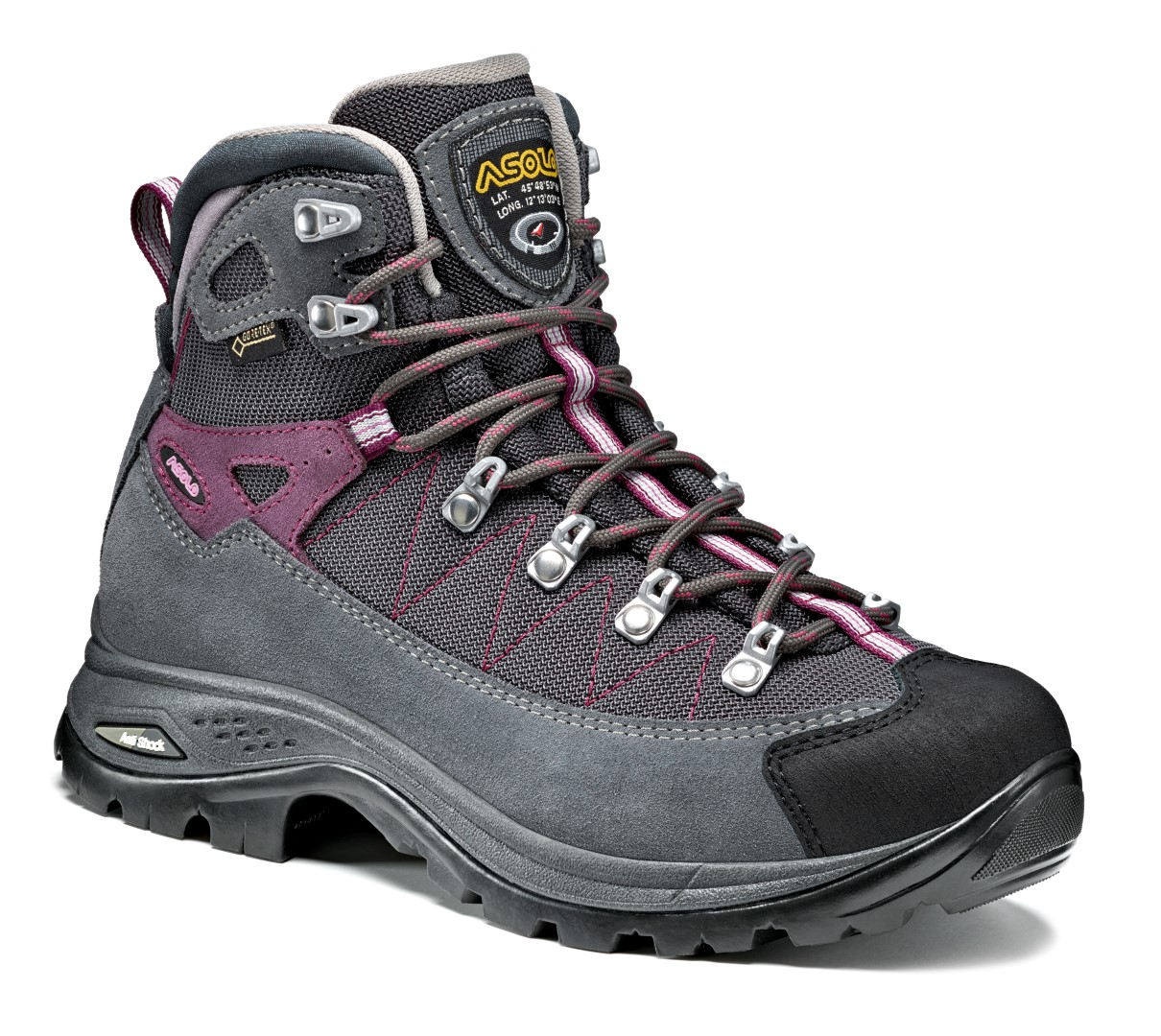 828716c2116e dámske turistické topánky ASOLO Finder GV grapeade - BERG SPORT