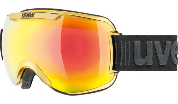Lyžiarske okuliare UVEX DOWNHILL 2000 chromové žlté - BERG SPORT 4a9c3b1bc4b